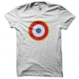 Tee Shirt The Who - les Qui - cocarde France - Blanc
