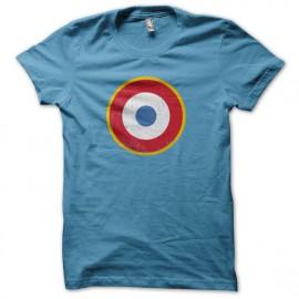 T-shirt Que - Que - redondel Francia - azul