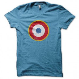 Tee Shirt The Who - les Qui - cocarde France - bleu
