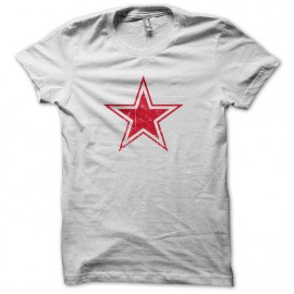 Tee Shirt The Who cocarde URSS russie blanc
