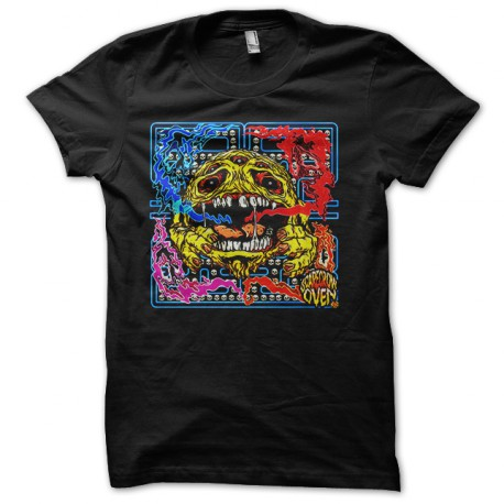 Pacman camisa susto negro