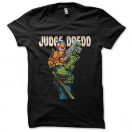negro camiseta Dredd Juez