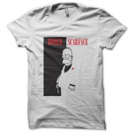 camisa de la parodia El precio del poder negro Homer Simpson