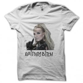 britney bitch white shirt