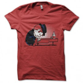 tee shirt tom wits red