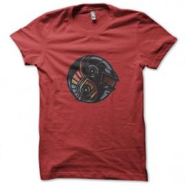 Camisa de Daft Punk rojo de Yin Yang