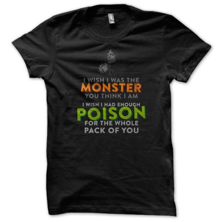 Tee Shirt GoT Tyrion Poison Noir