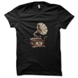 tee shirt music vintage noir