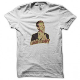 white shirt barney stinson