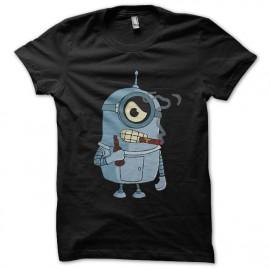 camisa de color negro subordinado doblador