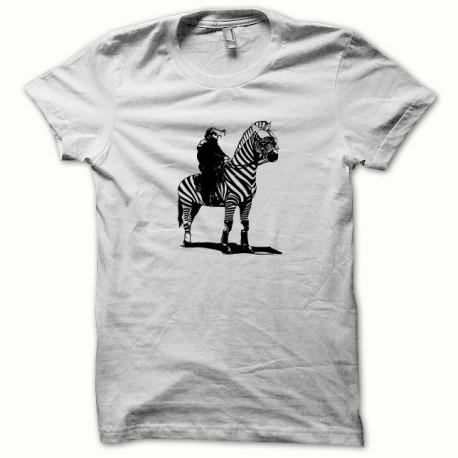 Tee shirt CRS noir/blanc