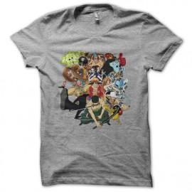 gray t-shirt One Piece