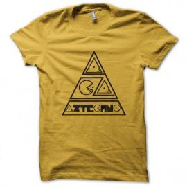 LogoAztechno camisa amarilla