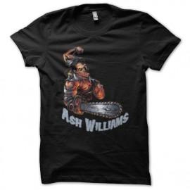 Ash Williams camisa de color negro