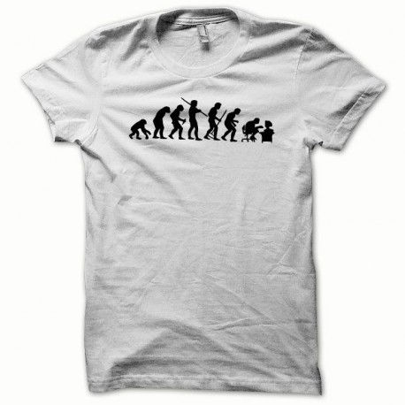 Tee shirt Evolution noir/blanc