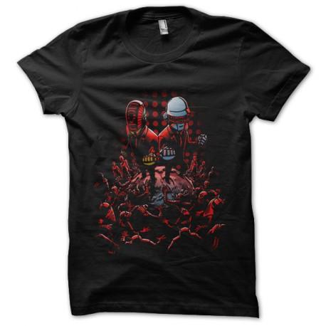 shirt daft punk black save world