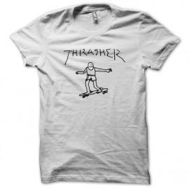 white shirt Thrasher