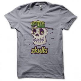 Tee Shirt Zkulls1 Gris