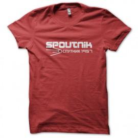 Tee Shirt Spoutnik ROUGE