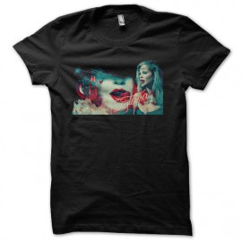 tee shirt fangtasia true blood noir