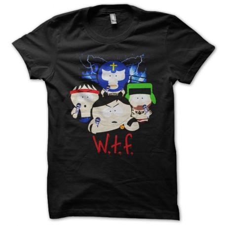 negro de la camiseta de South Park