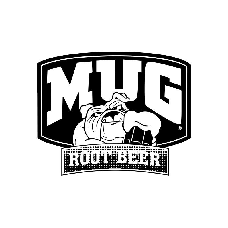 Shirt Mug Root Beer White