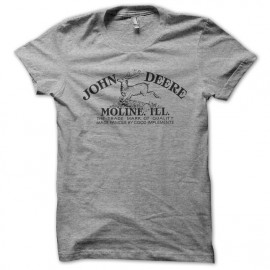 John deers gray shirt