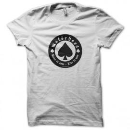 Motorhead camiseta blanca