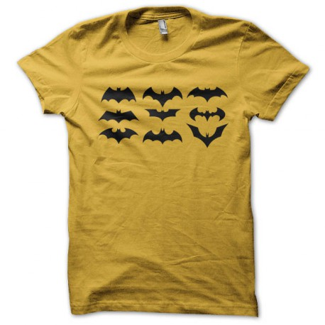 Camisa Amarilla Batman Símbolo