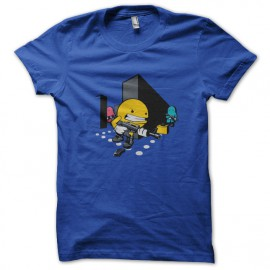 tee shirt Callofdotty Pacman blue