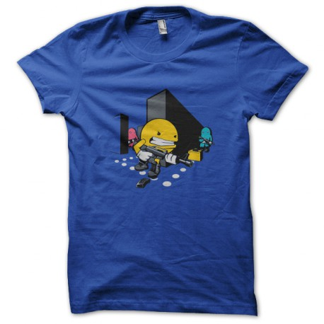 Pacman camisa azul Callofdotty