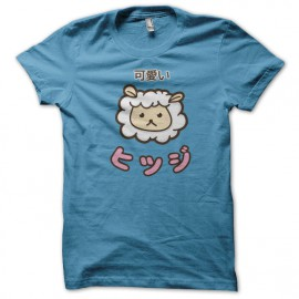 Tee Shirt Kawaii Blue Sheep