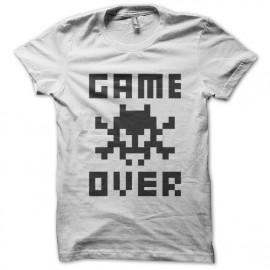 Juego encima Camiseta Negro sobre blanco