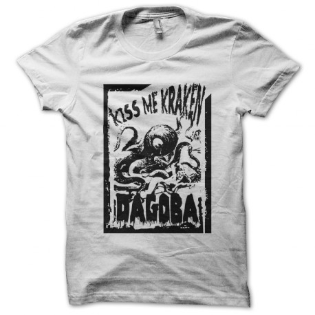 Me Kiss Shirt Tee Dagoba Blanc Kraken wk0O8nP