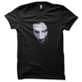 tee shirt Marilyn Manson vampire noir