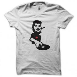 Che Guevara camiseta con la placa blanca