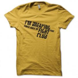 Camisa amarilla im romper