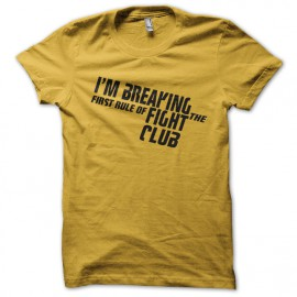 shirt im breaking yellow