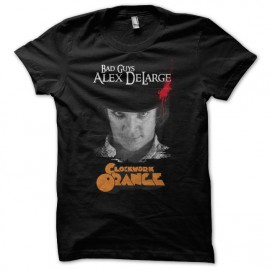 Tee Shirt Bad Guys-Alex DeLarge CLOCKWORK ORANGE