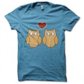 shirt OLW birdheart bluesky
