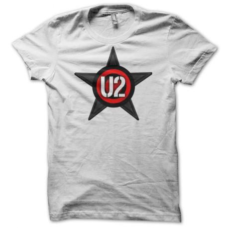 tee shirt U2 white