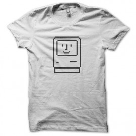 Camiseta blanca de Apple Macintosh en 1984