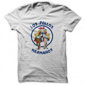 Tee Shirt  Los Pollos Hermanos blanc