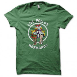 Tee Shirt  Los Pollos Hermanos vert