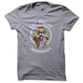 Tee Shirt  Los Pollos Hermanos Gris