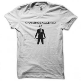 desafío camiseta blanca aceptada