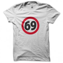 Tee shirt 69 sixty nine WHITE