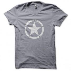 Tee Shirts Roundel estrella Gris de EE.UU.