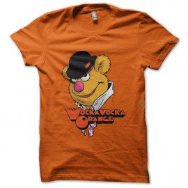 tee shirt clockwork orange wocka orange