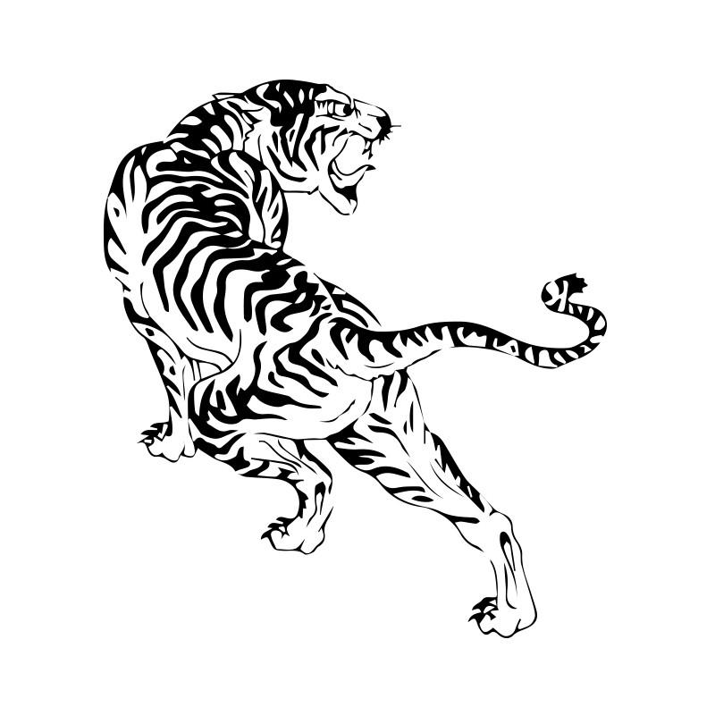 tribal tiger designs - 800×800
